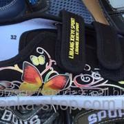 Кеды 31-36 Бабочка черные, код товара 259926652 фото