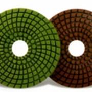 Круги алмазные гибкие шлифовальные для камня, Минералы для полировки камня(черепашки) фото