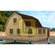 Дом из бруса Проект №10 (6х7) фото