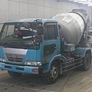 Автобетоносмеситель Nissan Truck кузов PK26A г 2004 миксер KYB грузоподъемность 6.92 тн пробег 287 т.км фото