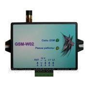 Модуль системы оповещения через канал GSM связи «GSM-W02» фото