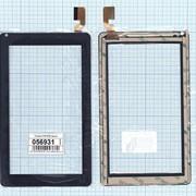 Сенсорное стекло (тачскрин) FHF70180 черное, Диагональ 7 фото