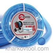Шланг для воды 3-х слойный 1/2, 20м, армированный PVC Intertool GE-4053 фото