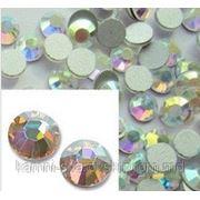 Стразы ДМС Crystal AB ss12(3.0-3.2mm).Цена за 100шт фото
