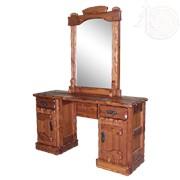 Трюмо Барыня (зеркало, ящик+дверь, ящик+дверь) фото