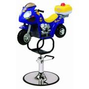 Кресло детское парикмахерское (мотоцикл) арт. ZD-2109B фото