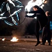 Фейерверк, огненное шоу на свадьбу. фото