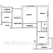 3-х комнатная квартира в Тирасполе, 143 серия фото