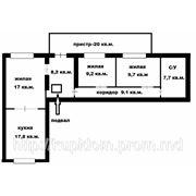 3-х комнатная, Тирасполь, 96 кв. м. фото