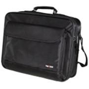 """Сумка для ноутбука BagSpace BS-321 (17"""") (нейлон+кожзам, черная, 44x32x10 см) фото"""