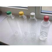 ПЭТ Бутылка 0.5л 19г с колпачком фото