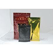 Пакет Дой-пак (doy-pack) для натурального кофе фото