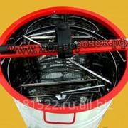 Медогонка алюминиевая 2-х рамочная оборотные кассеты фото