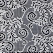Кружево эластичное Chanty цвет СHS-белый артикул 60397 фото