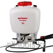 Опрыскиватель садовый Grinda Fine Spray ранцевый, телескопический фибергласовый удлинитель, 15л Код: 8-425215_z01 фото