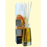 Аромадиффузор с комплектом бамбуковых палочек Апельсин 100 мл фото