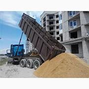 Продажа карьерного песка с доставкой фото