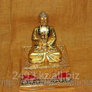 Сувенир Будда на груди - свастика фото