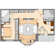 Crearea proiectului de design interior pentru un apartamen sau cottage фото