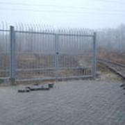 Ворота ручные фото
