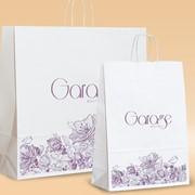 Бумажные пакеты для одежды фото
