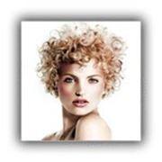 Укладка волос (бигуди, утюжок) фото