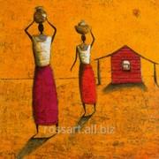 Картина на холсте Люди и образы Two Women фото