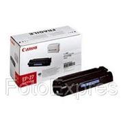 Заправка картриджа Canon EP-27 фото
