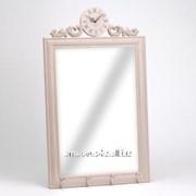 Зеркало с часами фото