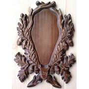 Медальон под рога косули РК-3 фото
