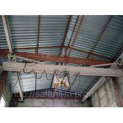 Ремонт подвесных путей, кран балок, тельферов. фото