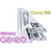 Окна Профильной системы REHAU GENEO фото