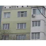 Утепление фасадов пенопластом, пенополистиролом, минватой, термоизоляционными красками фото