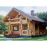 Cтроительство деревянных домов (срубов) фото