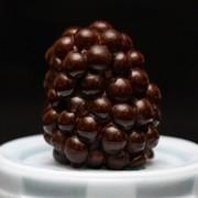 """3D форма из пищевого силикона """"Ежевика"""" Размер готовой ежевики 3х2см фото"""