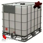 Емкость кубическая (Еврокуб) 1000 литров для технических жидкостей фото