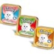 Корм для кошек Simba влажный (лоток) фото