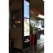 Рекламно-информационная видеостойка фото