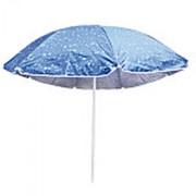 Зонт пляжный серебро D1.8 м МН-0037 фото