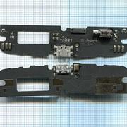 Разъем Micro USB для Lenovo A7010 (плата с системным разъемом, микрофоном и вибро) фото