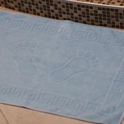 """Полотенце махровое гладкокрашенное """"Пас-Пас"""" (коврик для ног) фото"""