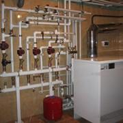 Монтаж систем отопления в Украине фото