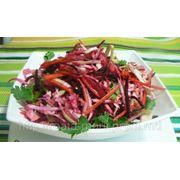 Салат с овощами фото