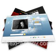 Создание сайта-визитки фото