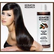 Кератиновое лечение (выпрямление) волос фото