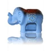 Аромалампа Слон голубой фото