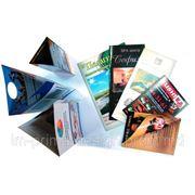 Буклеты. Печать и дизайн буклетов, изготовление буклетов. фото