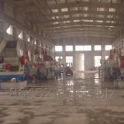 Линия мойки и дробления ПЭТ бутылки 1000 кг в час фото