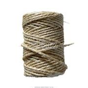 Производство короткого и длинного льняного волокна, пакли строительной, костры, льяного шпагата и веревки фото