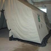Палатки лагерные на деревянных стойках 8-и местная 4,07х3,30х1,62 (2,75) 1-но сл. б/тамб фото